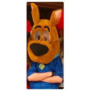 Scooby Doo Costume head